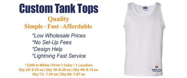 unisex tank and sleeveless t-shirts