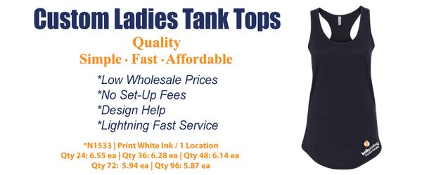 Custom Ladies Tanks