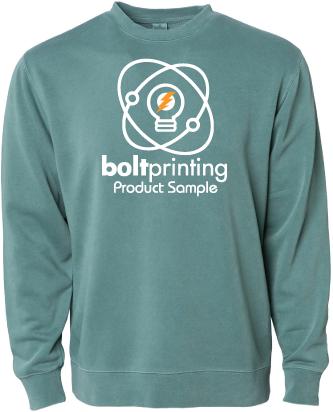 Heavyweight Pigment-Dyed Crewneck Sweatshirt