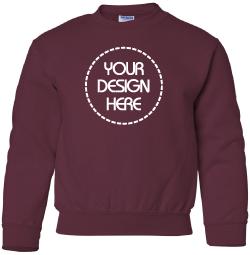 Kids Sweater - Crew Neck Sweathshirt