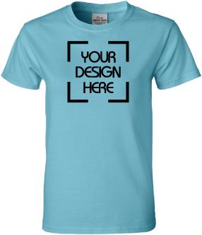 Ladies Garment Dyed T-Shirt