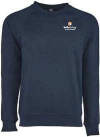 French Terry Raglan Crew Sweatshirt