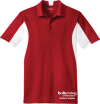 Color Block Contender Polo Shirt