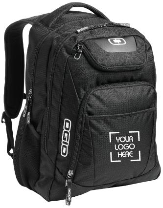 Roomy Black Backpack