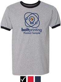 Ringer T-Shirt - Sport Gray Body