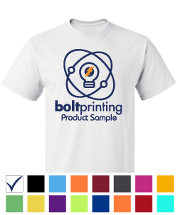 best deal 100% cotton t-shirt by bolt printing style # bd54