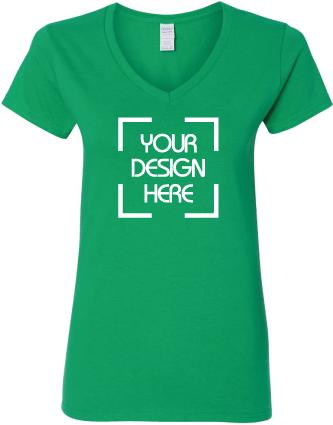 Women's Cotton V-Neck T-Shirt