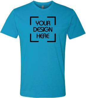 Heathered Crewneck T Shirt