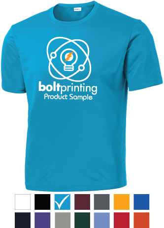 100% Polyester Competitor T Shirt