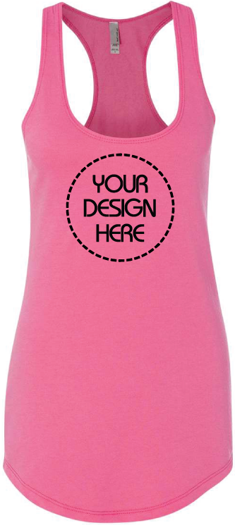 Ladies French Terry Racerback Tank
