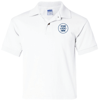 Youth DryBlend Jersey Polo Shirt | Great for Uniforms