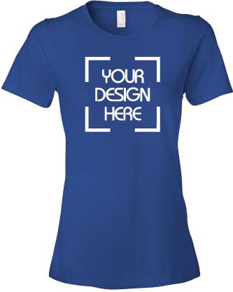 Ladies Lightweight Ringspun T-Shirt
