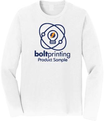 super soft long sleeve t-shirt by bolt printing style # bdssls