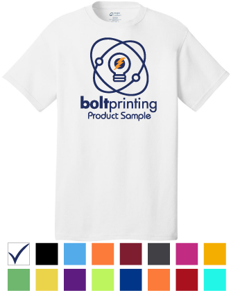 best deal core cotton t shirt by bolt printing style # bd54