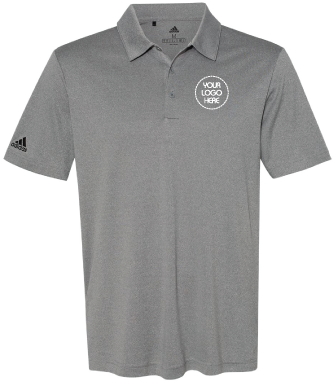 Heathered Performance Polo Shirt