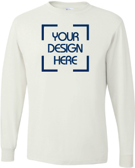 Basic 50/50 Long Sleeve Shirt