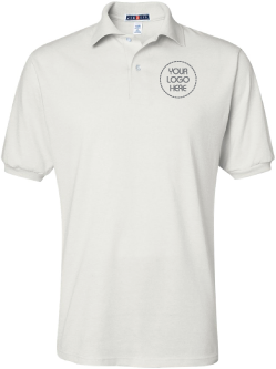 Basic Printed 50/50 Polo