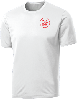 Embroidered Wicking T Shirt