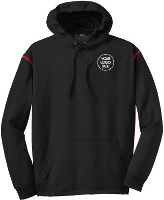 Sport Tek Tech Fleece Hooded Sweatshirt