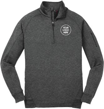 Tech Fleece Pullover |  Quarter Zip Up Fleece Sweatshirt