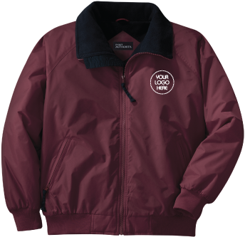 Rugged and Durable Jacket | Water-resistant Nylon Shell | Heavier Fleece Lining