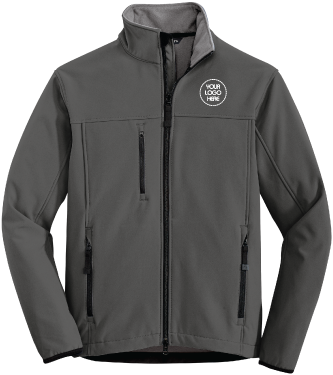 Corporate Soft Shell Jacket | Water Repellent Nylon Shell | Mirco Fleece Lining