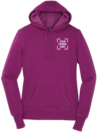 Ladies Hooded Pullover | Hoodie