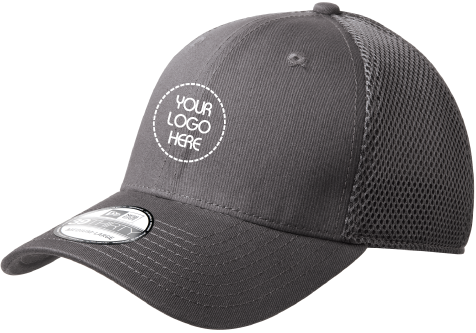 Stretch to Fit Mesh Cap | Solid Color Hat