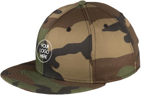 Urban Attitude Snapback Cap | Flat Bill | Camo Hat
