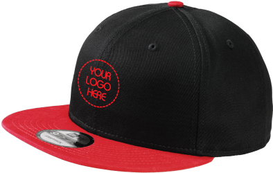 Flat Bill Snapback Cap | Urban | Two-Tone