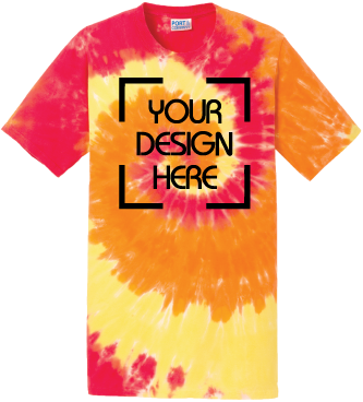 Blaze Rainbow Tie-Dyed T-Shirt