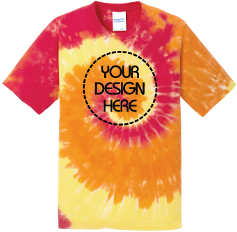 Youth Blaze Rainbow Tie-Dyed T-Shirt