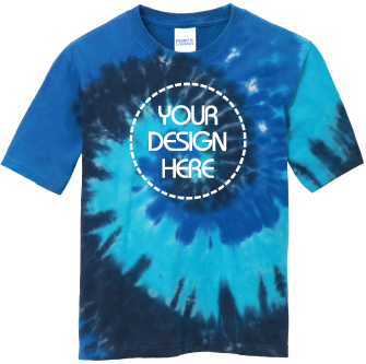 Youth Ocean Rainbow Tie-Dyed T-Shirt