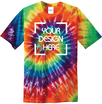Youth Rainbow Tie-Dyed T-Shirt