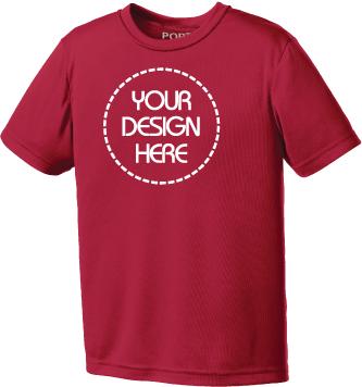 Youth Performance T-Shirt | Moisture Wicking Tee
