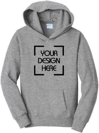 Youth Fan Favorite Fleece Hooded Sweatshirt