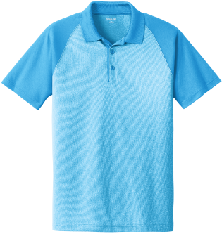Add a Splash of Color with Heather Block Polo's