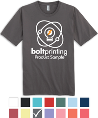 Organic Cotton Garment-Dyed T-Shirts