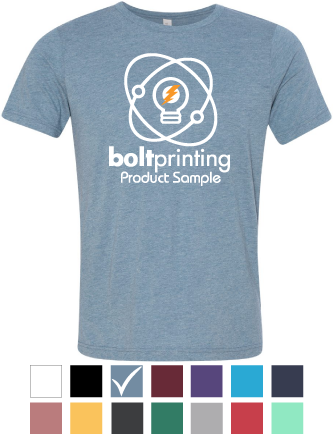 Bella+Canvas<br>Tri Blend T Shirts