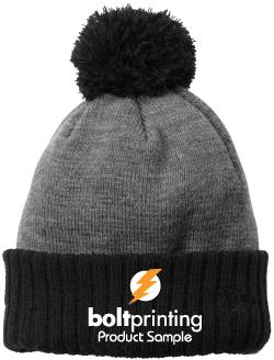 Fleece Lined Winter Beanie | Two-Toned