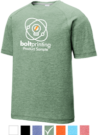 Athletic Style Tri-Blend Raglan T-Shirt