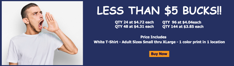 5 dollar custom t shirts sale