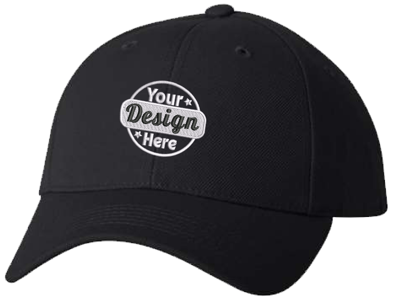 Embroidered Cap - Wool Blend