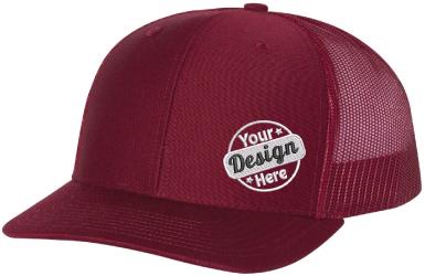 Solid Custom Embroidered Richardson Hat